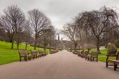 Edinburgh princess garden Royalty Free Stock Images