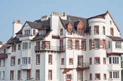 Edinburgh Ramsay Garden. Block of flats Royalty Free Stock Photography