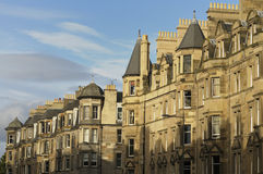 Edinburgh Real Estate Royalty Free Stock Photography