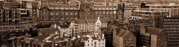 Edinburgh roofs Stock Photo