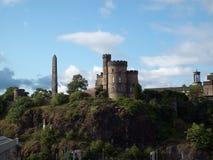 Edinburgh's castle Stock Photography