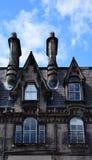 Edinburgh`s Chimneys Stock Photography