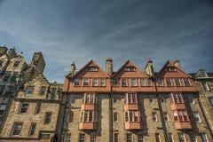 Edinburgh's Royal Mile. A view of buildings on Edinburgh's Royal Mile Royalty Free Stock Photo
