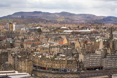 Edinburgh's skyline, Scotland Stock Images