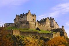 Edinburgh-Schloss Lizenzfreie Stockfotos