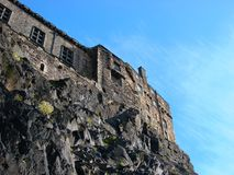 Edinburgh-Schloss Stockbilder