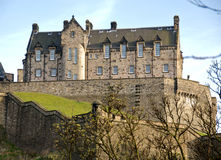Edinburgh-Schloss Stockfotos