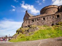 Edinburgh-Schloss Schottland Großbritannien Stockfoto