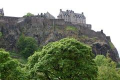 Edinburgh-Schloss, Schottland, Großbritannien lizenzfreie stockfotografie