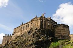Edinburgh-Schloss vom Süden lizenzfreies stockfoto