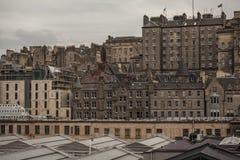 Edinburgh, Schotland - de oude stad royalty-vrije stock foto