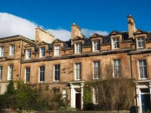 EDINBURGH, 26 Schotland-Februari, de 2016-historische de bouwplaats in de oude stad van Edinburgh, Schotland, het UK Stock Afbeelding