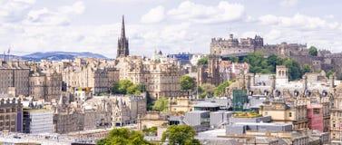 Edinburgh Schotland het UK stock afbeelding