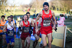EDINBURGH, SCHOTLAND, het UK, 10 Januari, de kampioen Chris van 2015 - van 2014 Stock Afbeelding