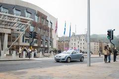 """EDINBURGH, SCHOTTLAND, BRITISCHES †""""am 18. September 2014 - Unabhängigkeits-Referendumtag Lizenzfreie Stockfotografie"""
