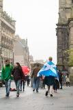 """EDINBURGH, SCHOTTLAND, BRITISCHES †""""am 18. September 2014 - Unabhängigkeits-Referendumtag Stockfotografie"""