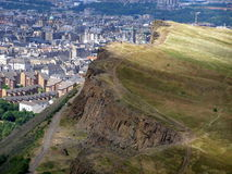 Edinburgh, Scotland. View from Artur's seat Edinburgh, Scotland Stock Photo