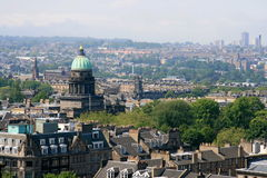 edinburgh scotland royaltyfria foton