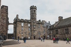 The Crown Square comprised of Scottish National War Memorial, Royal Palace, inside Edinburgh Castle, Scotland, UK Royalty Free Stock Photos