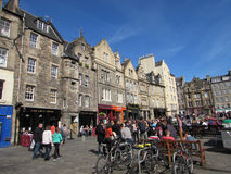 Edinburgh, Scotland. A beautiful spring day in Edinburgh, Scotland Stock Photo