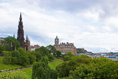 Edinburgh Scotland Stock Photo