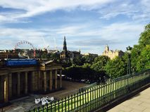 Edinburgh Scotland stock photo