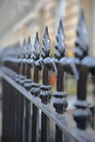 EDINBURGH, SCOTLAND : An entry gate in New Town Royalty Free Stock Photography