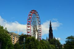 Edinburgh scotland Royalty Free Stock Image