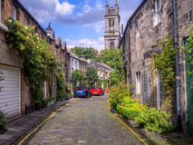 Circus Lane in the New Town, Edinburgh Royalty Free Stock Images