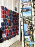 Edinburgh souvenir shop Stock Images