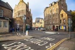 View of Edinburgh royalty free stock photos