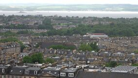 Edinburgh, Scotland Rooftops Cityscape During the Day
