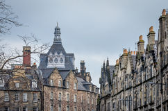 Edinburgh Scotland. Edinburgh is Scotlands capital and has a medieval town and a Georgian new town, with gardens and neoclassical buildings Stock Photo