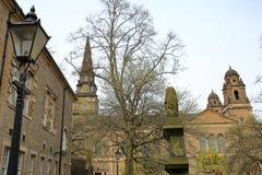 EDINBURGH, SCOTLAND: St Cuthbert`s Church. St Cuthbert`s Church in Edinburgh Stock Images