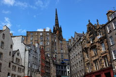 edinburgh scotland st uk victoria Royaltyfria Bilder
