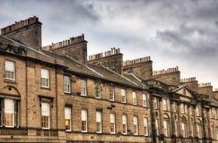 Edinburgh Scotland. Traditional houses in Edinburgh, Scotland Royalty Free Stock Photos