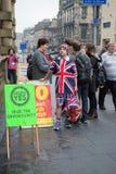 EDINBURGH, SCOTLAND, UK – September 18, 2014 - Independence referendum day Stock Images