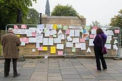 EDINBURGH, SCOTLAND, UK � September 18, 2014 - Independence referendum day Stock Photography