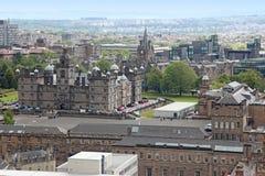 Edinburgh in Scotland, UK Stock Photos