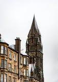Edinburgh, Scotland, UK-circa July 2016:View of the city, several monuments and the Castle. Edinburgh, Scotland Stock Photos