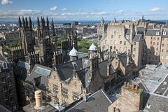 Edinburgh in Scotland, UK Royalty Free Stock Image