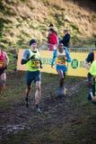 EDINBURGH, SCOTLAND, UK – January 10, 2015 - elite athletes co Stock Photo