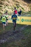 EDINBURGH, SCOTLAND, UK - January 10, 2015 - elite athletes comp Stock Images