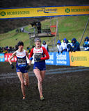 EDINBURGH, SCOTLAND, UK, January 10, 2015 - elite athletes compe Royalty Free Stock Images