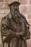 John Knox statue at St Giles Cathedral, Edinburgh, Scotland, UK.