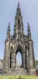 Edinburgh Scott Monument Stock Photo