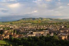 Edinburgh Skottland Arkivfoton