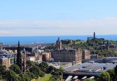 Edinburgh Skottland arkivbild