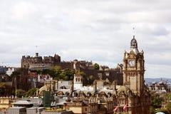Edinburgh Skottland Fotografering för Bildbyråer