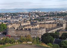 Edinburgh skyline Royalty Free Stock Image